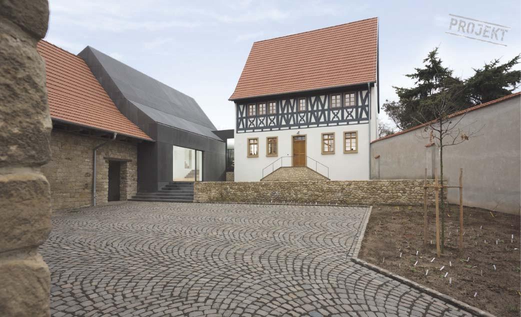 Ansicht Architektur ansicht innenhof fachwerkhaus daniel morber architektur